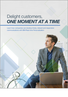 Ebook real time personalization