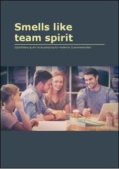 Smells like teamspirit digitalisierung als voraussetzung