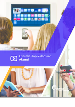 Akamai for over the top video dede