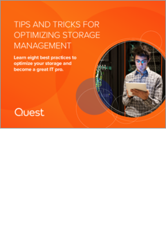 Tips and tricks for optimizing storage management ebook 19659