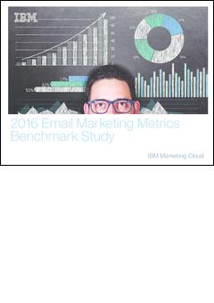 Email marketing metrics benchmark study 2016 ibm