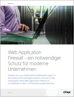 Web application firewall delivering must have protection for the modern enterprise de