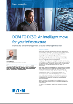 Data centre monitoring expert perspective