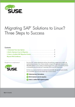 Migrating sap solutions