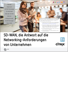 Sd wan the answer to networking demands de