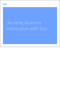 ebook  securing business information with box