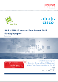 Cisco sap hana vendor benchmark 2017 strategiepapier final 13062017