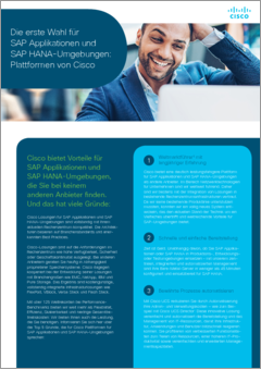 Cisco sap hana 5reasons