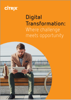 Digital transformation where challenege meets opportunity