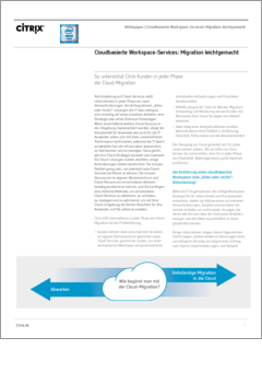 Cloud workspace services adoption made simple de