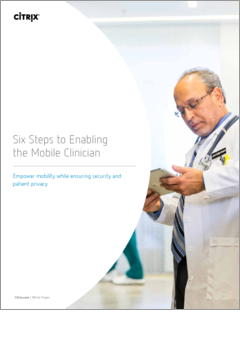Six steps enabling the mobile clinician